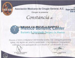 Dr Valenzuela - Constancia Asociacion