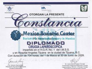 Dr Valenzuela - Constancia Diplomado