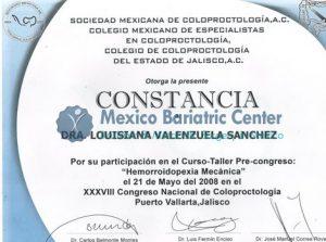 Dr Valenzuela - Constancia Sociedad
