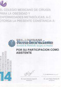 Dr Valenzuela - El Colegio Mexicano De Cirugia Para La Obesidad Y Enfermedades Metabolics A.C