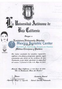 Dr Valenzuela - La Universidad Autonoma de Baja California