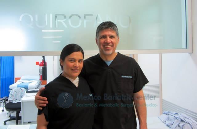 Dr Valenzuela and Dr Elli - Mexico Bariatric Center
